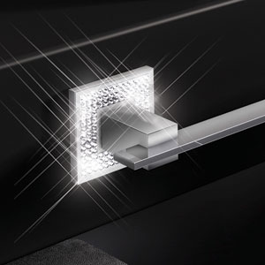 Diamond Bath Hardware Collection by Zen
