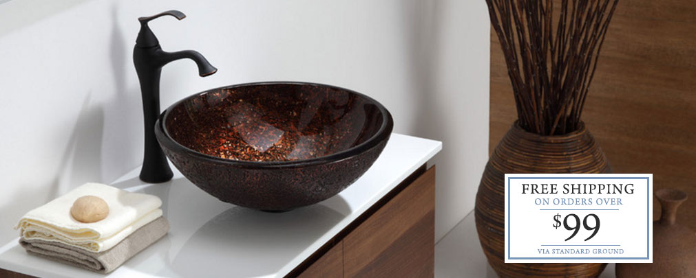 Vessel/Above Counter Bathroom Sinks