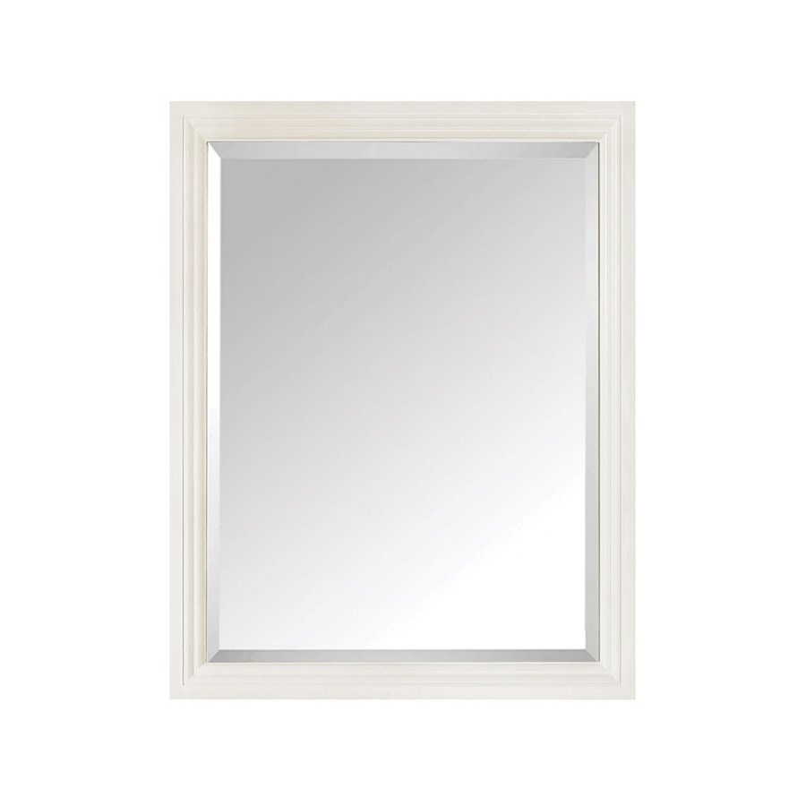 "Avanity 30"" x 24"" Thompson Wall Mount Mirror - French White THOMPSON-M24-FW"