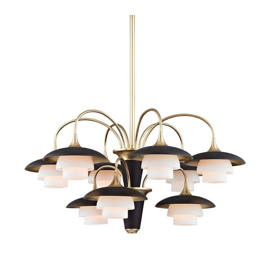 Hudson Valley Barron 9 Light Chandelier - Aged Brass 1009-AGB