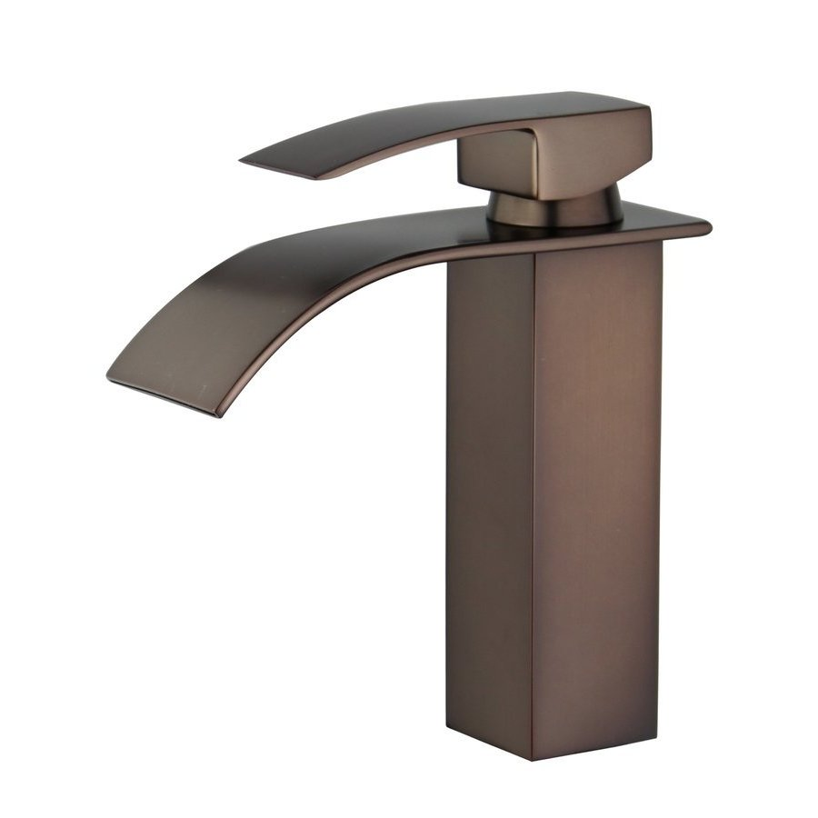 Bellaterra Santiago Bathroom Faucet with Single Handle Lever in Oil ...