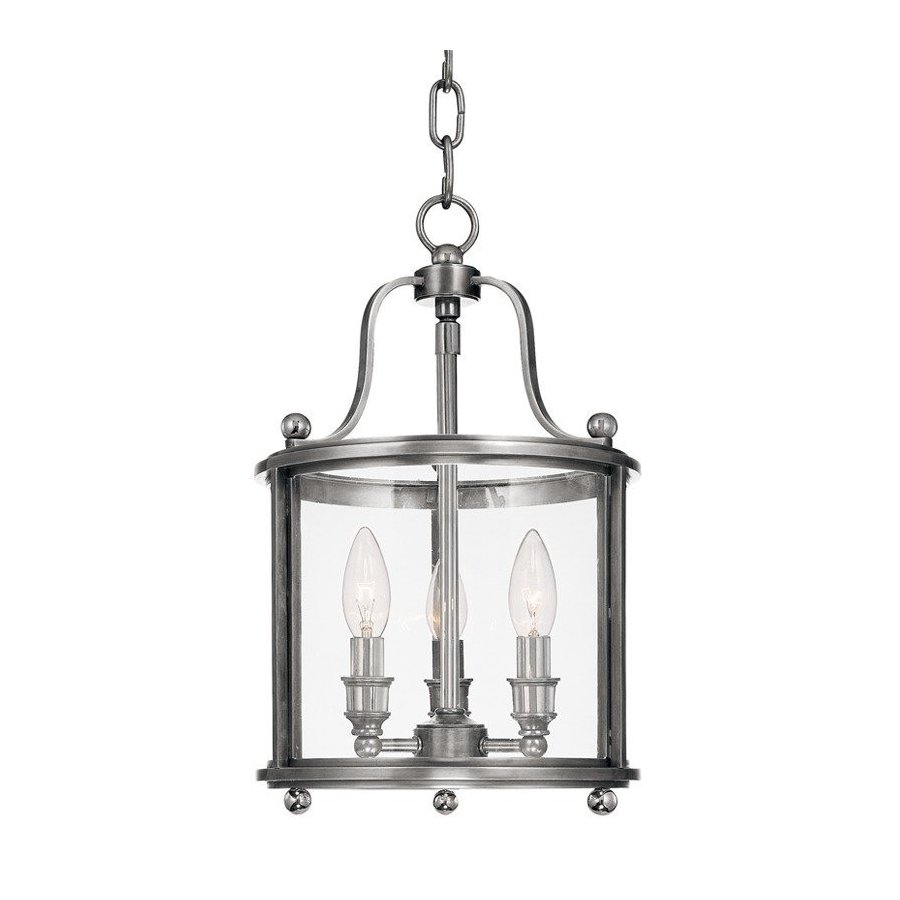 Hudson Valley Mansfield 3 Light Island Pendant - Polished Nickel 1310-PN