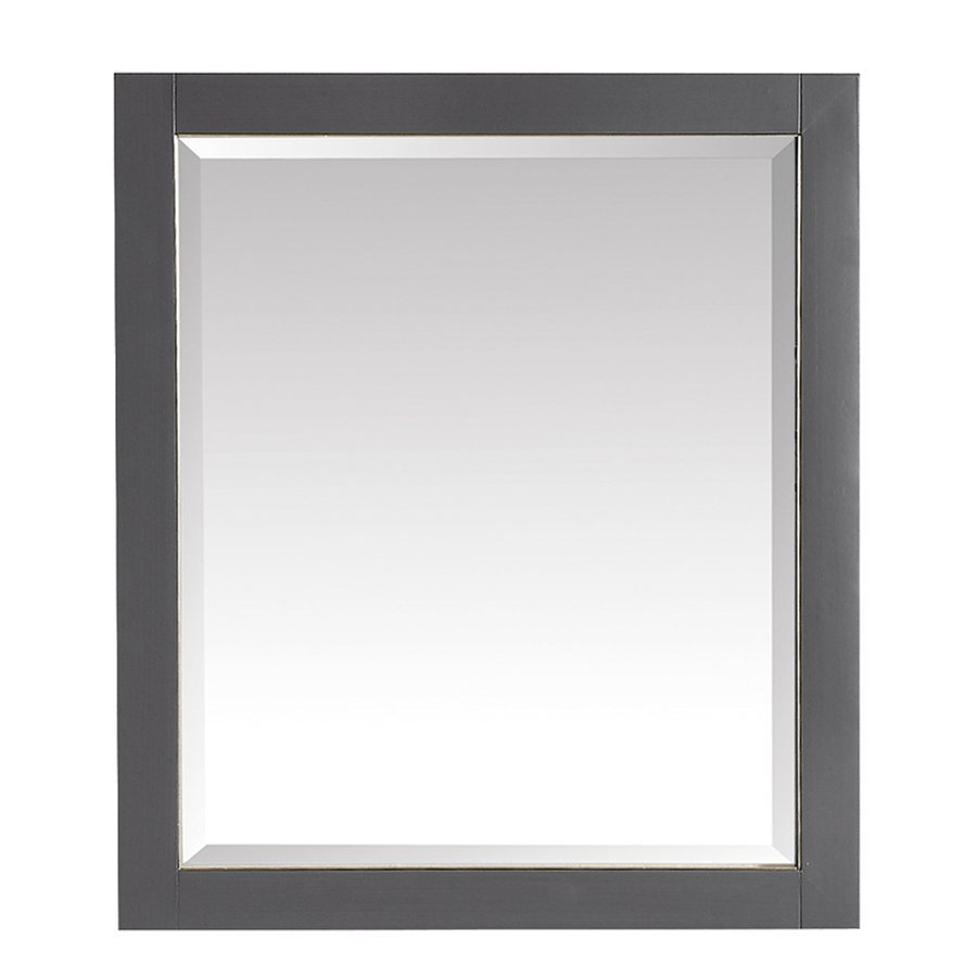 Avanity 28 in. Mirror for Allie / Austen in Twilight Gray w/ Gold Trim 170512-M28-TGG