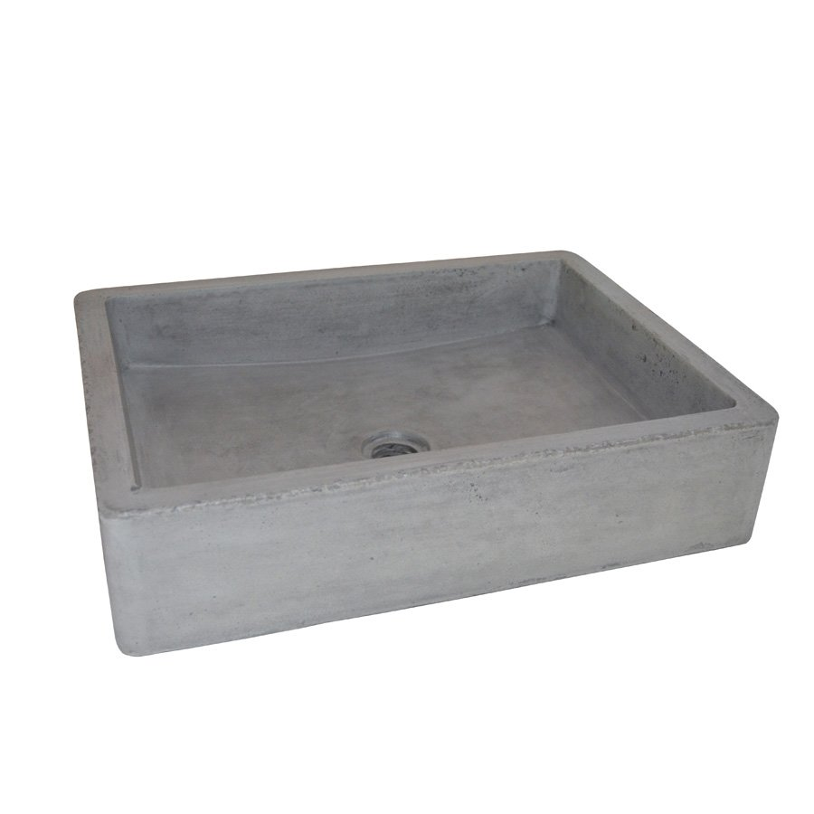 "Native Trails 19-1/2"" x 15-1/2"" Nipomo Vessel/Above Counter Sink - Ash NSL1915-A"