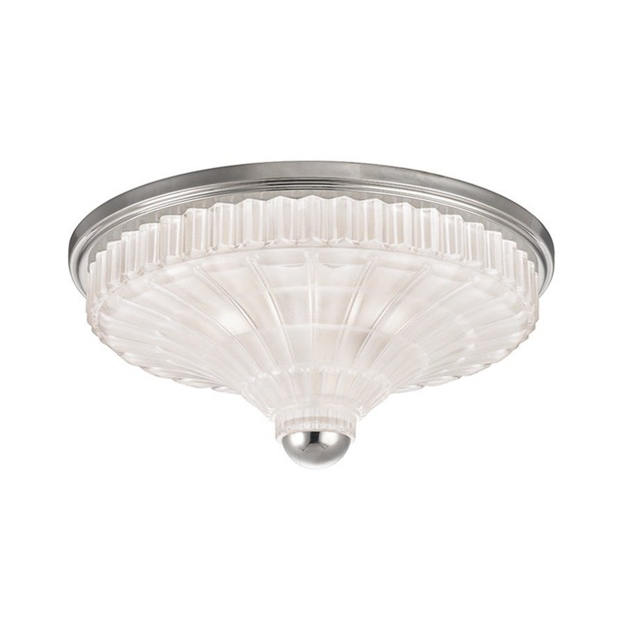 Hudson Valley Paris 3 Light Flush Mount - Polished Nickel 2516-PN