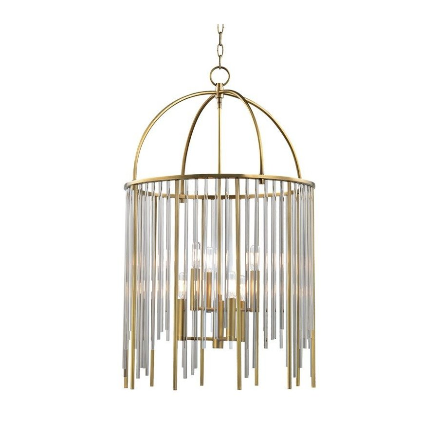 Hudson Valley Lewis 6 Light Pendant - Aged Brass 2520-AGB