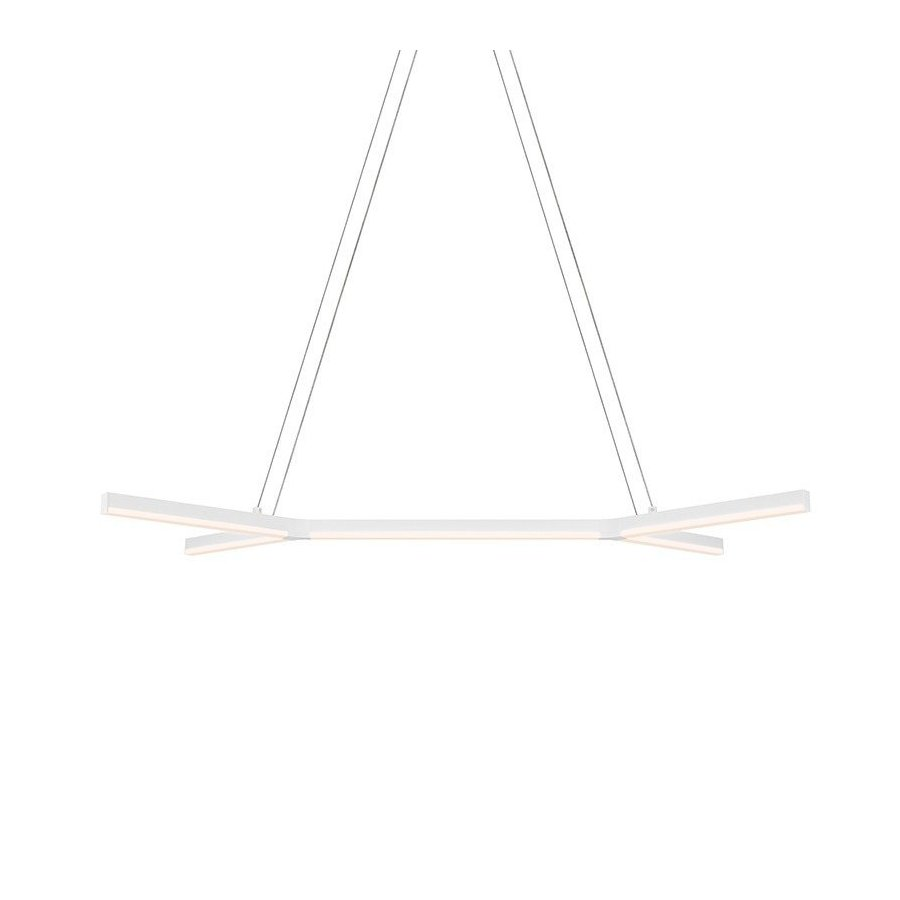 Sonneman bi-Y LED Pendant - Satin White 2774.03