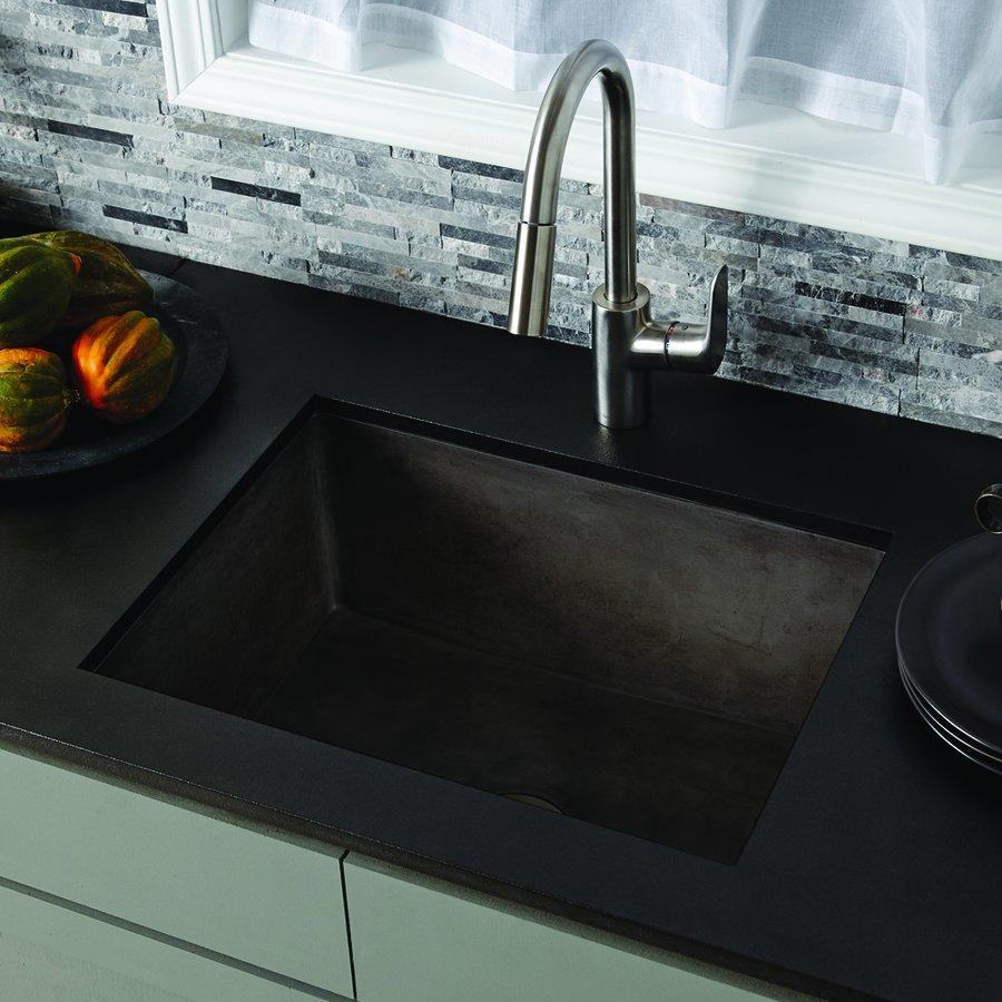 24 x 18 farmhouse reversible kitchen sink slate