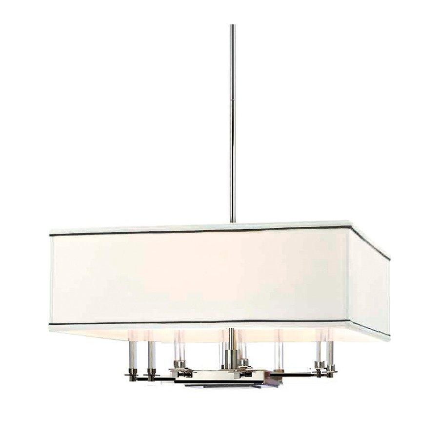 Hudson Valley Collins 8 Light Chandelier - Polished Nickel 2924-PN