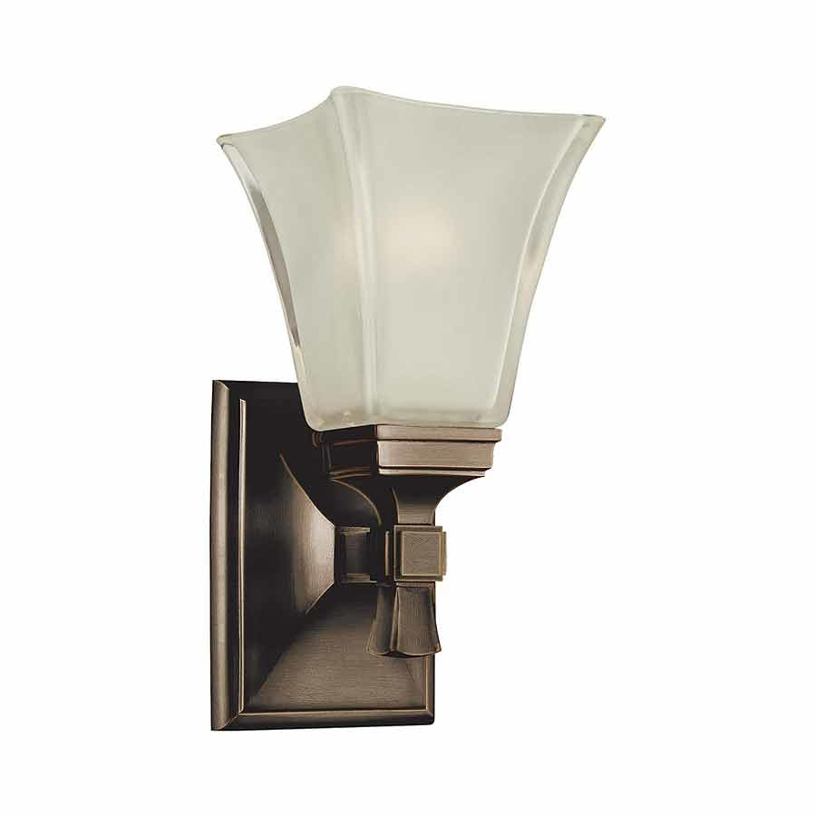 Hudson Valley Kirkland 1 Light Bathroom Sconce - Old Bronze 1171-OB