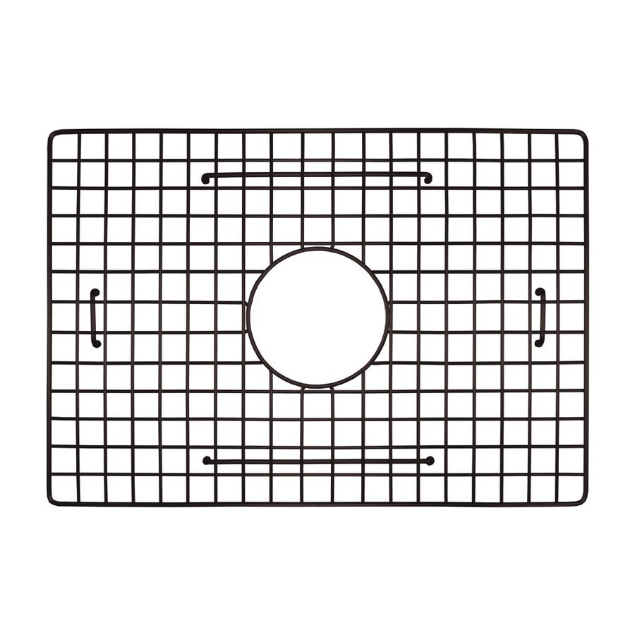 "Native Trails 18-1/2"" x 13"" Kitchen Sink Bottom Grid - Mocha GR1813-M"