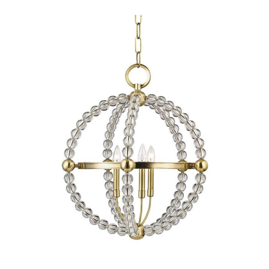 Hudson Valley Danville 3 Light Pendant - Aged Brass 3120-AGB