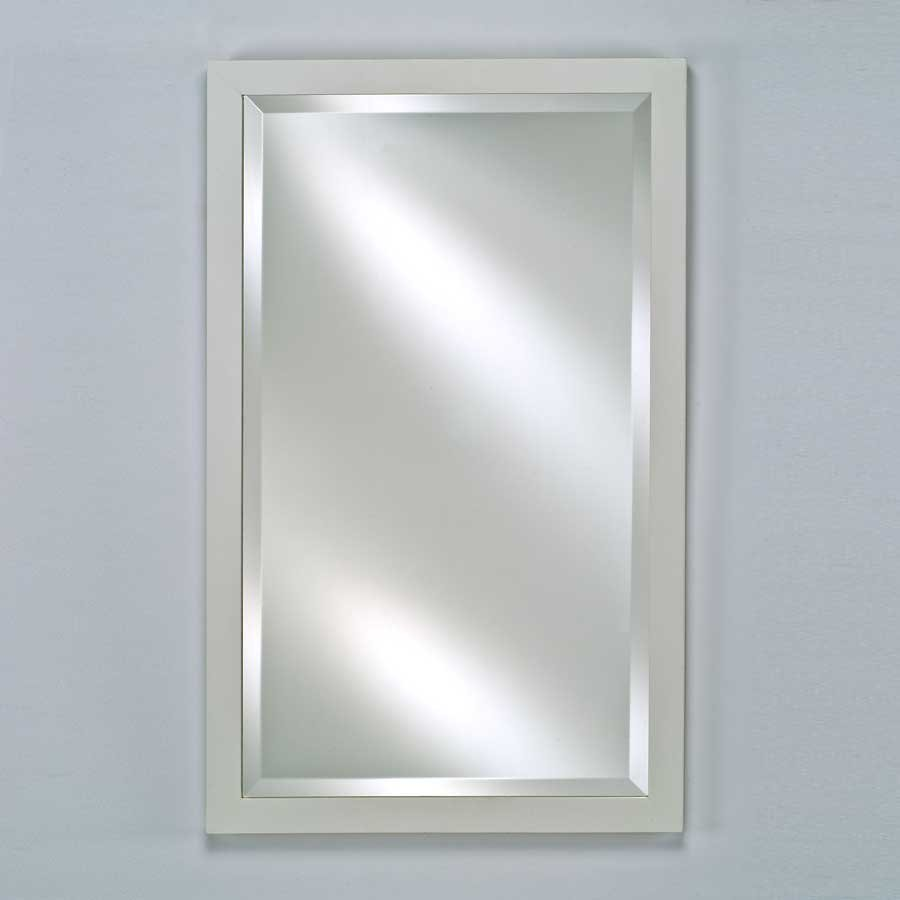 "Afina Estate 16"" Mirror - Satin White EC11-1626-WT"