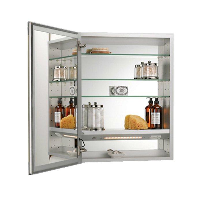 Afina 36 X 24 Illume Backlit Recessed Mirrored Medicine Cabinet I