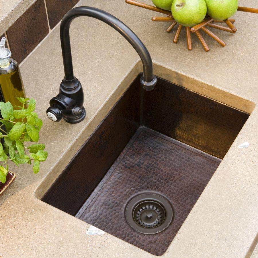 """Native Trails 21"""" x 16"""" Cocina Undermount Kitchen Sink - Antique Copper CPK278"""