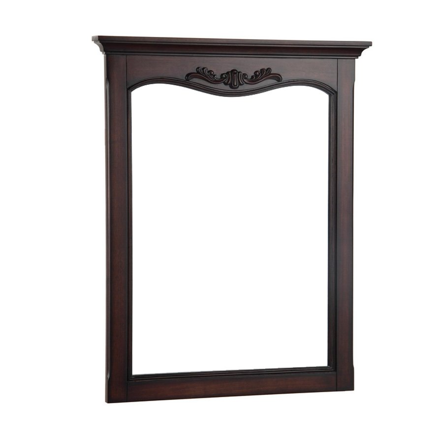 "Foremost 26"" x 30"" Astria Wall Mount Mirror - Antiquie Cherry ASCM2632"