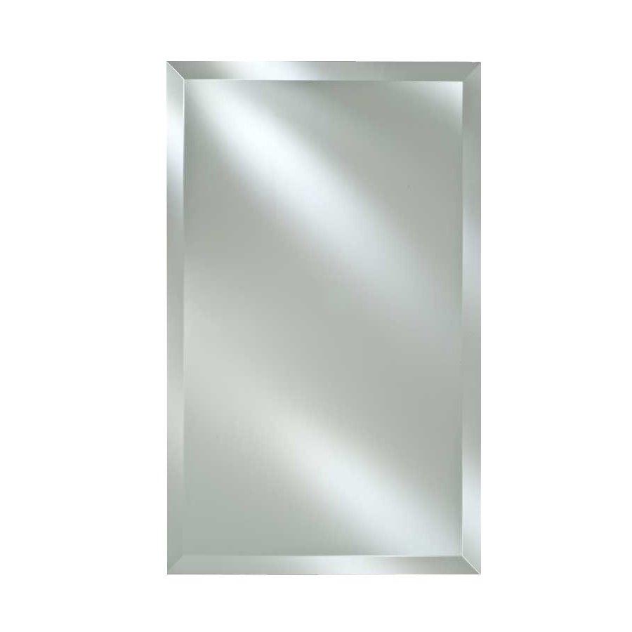 "Afina Basix 24"" Mirrored Medicine Cabinet - Beveled SD-2430-R-BSX-FB"