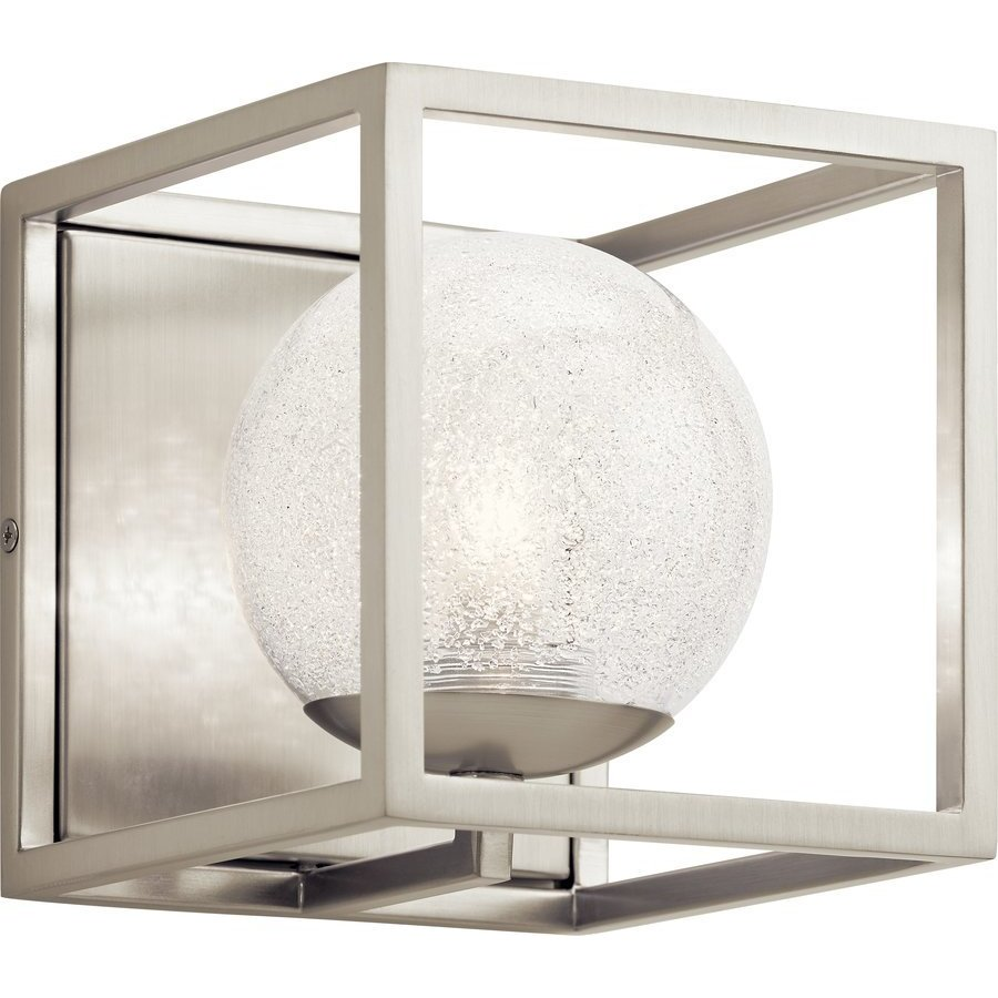 Kichler Karia 1 Light Wall Sconce - Brushed Nickel 45916NI