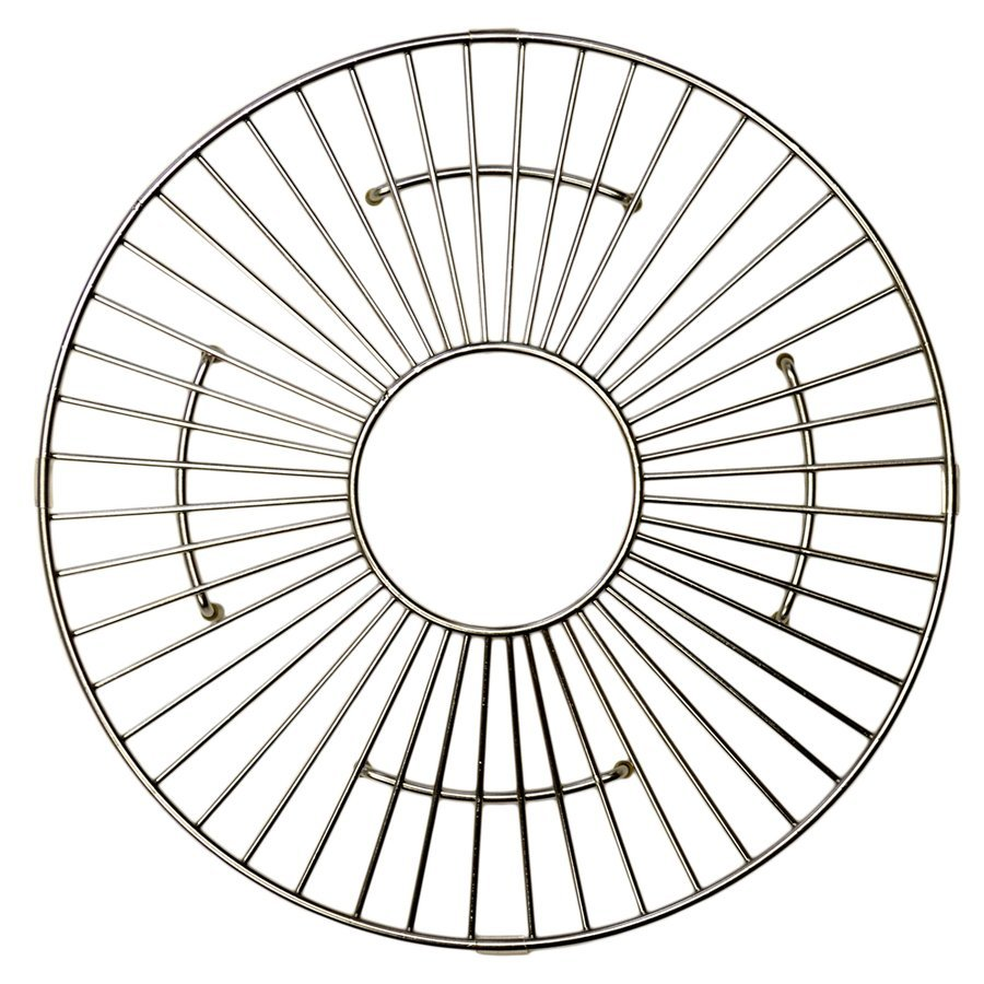 "Native Trails 13-1/2"" Round Kitchen Sink Grid - Stainless Steel GR914-SS"