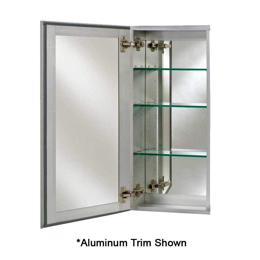 "Afina Broadway 24"" Mirrored Medicine Cabinet - Beveled SD 2430 R BRD (BV)"