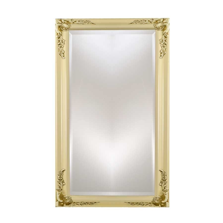 "Afina Estate 20"" Mirror - Antique Biscuit EC13-2026-BI"