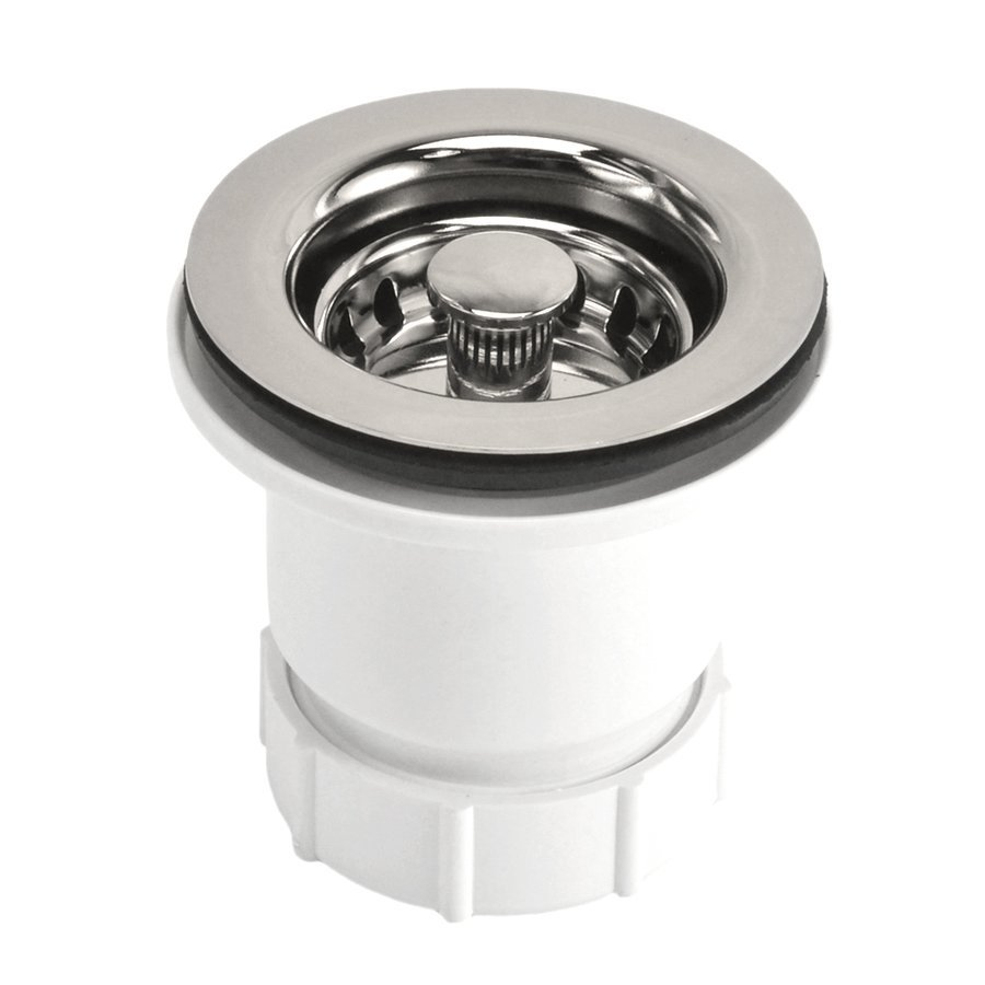 "Native Trails 2"" Round Jr. Drain Strainer - Polished Nickel DR220-PN"