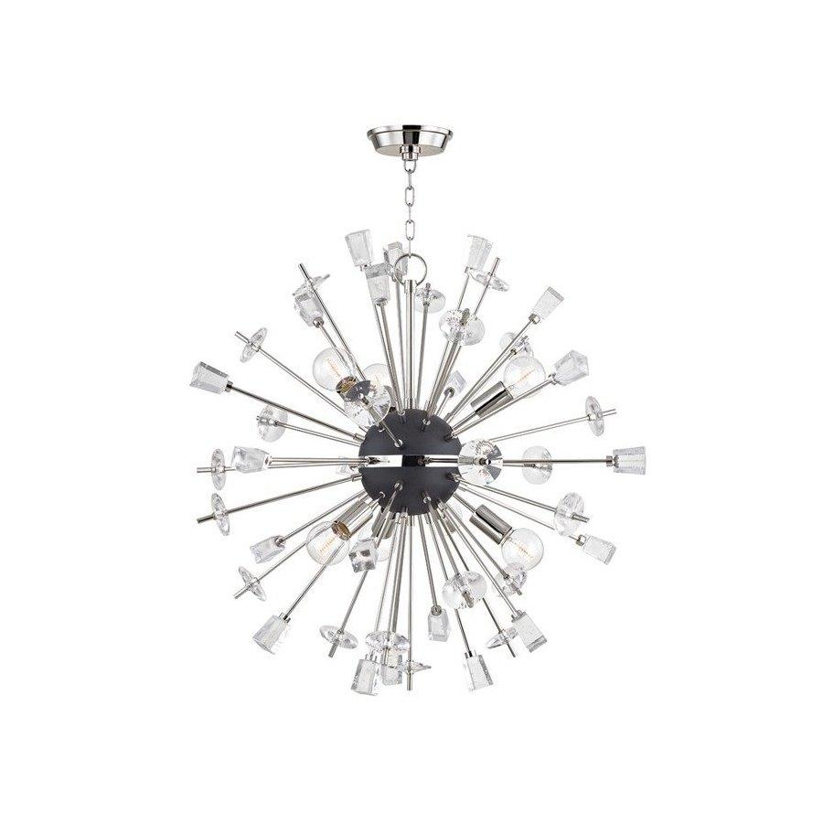 Hudson Valley Liberty 6 Light Chandelier - Polished Nickel 5032-PN