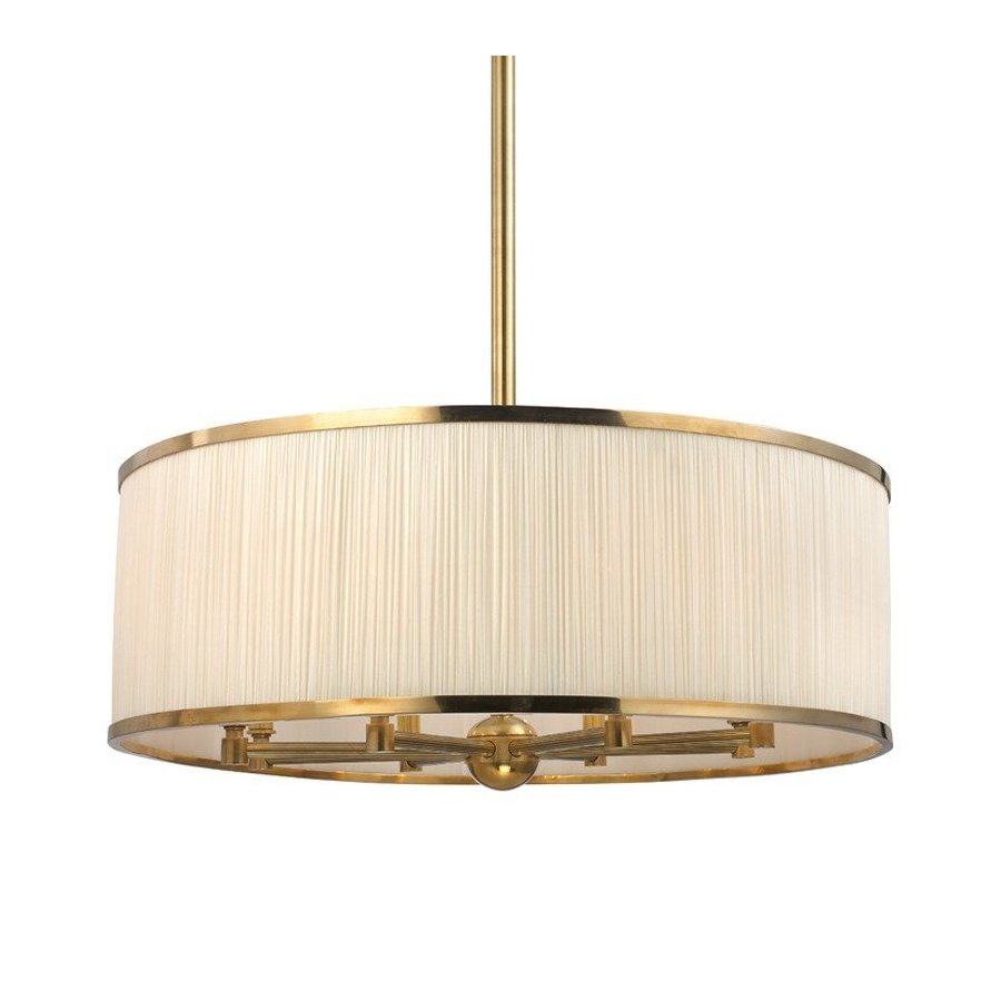 Hudson Valley Hastings 8 Light Chandelier - Aged Brass 5230-AGB