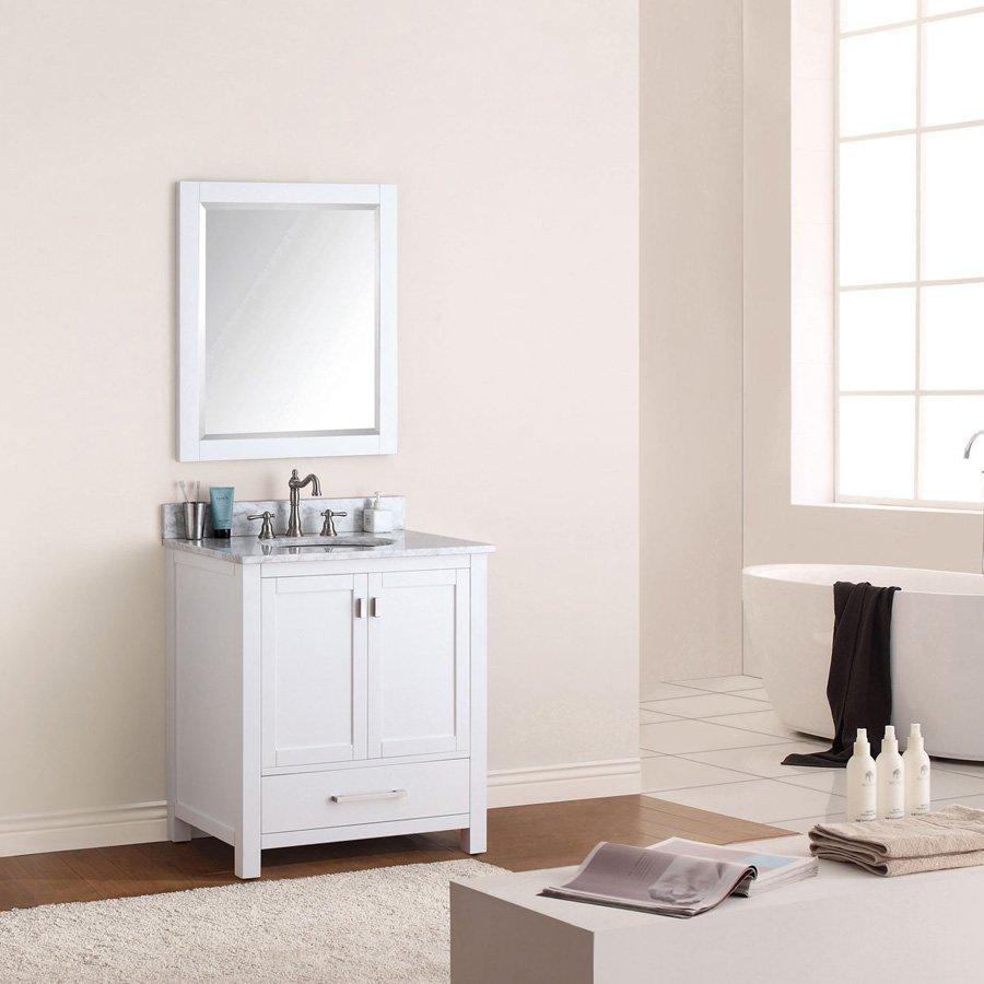 Avanity Modero 28 x 32 in. Mirror in White finish MODERO-M28-WT
