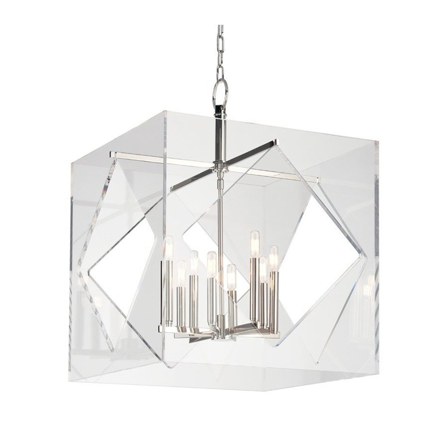Hudson Valley Travis 8 Light Chandelier - Polished Nickel 5924-PN