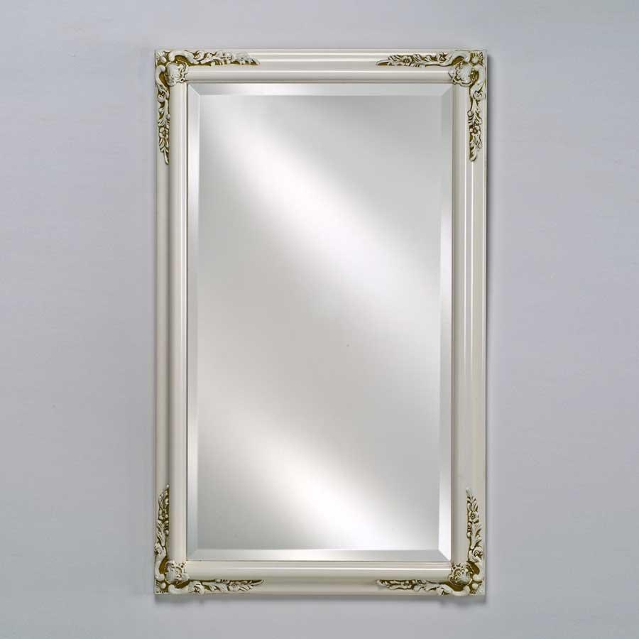"""Afina Estate 24"""" Mirror - Antique White EC13-2430-WT"""