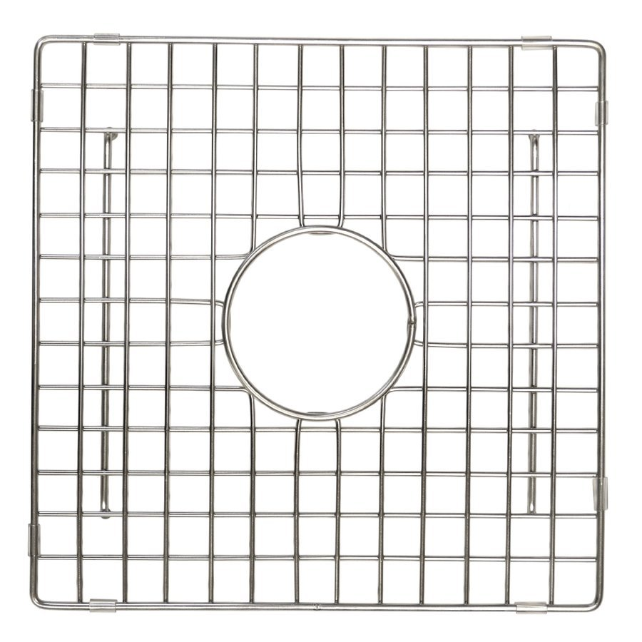 "Native Trails 12-1/2"" Square Kitchen Sink Grid - Stainless Steel GR934-SS"