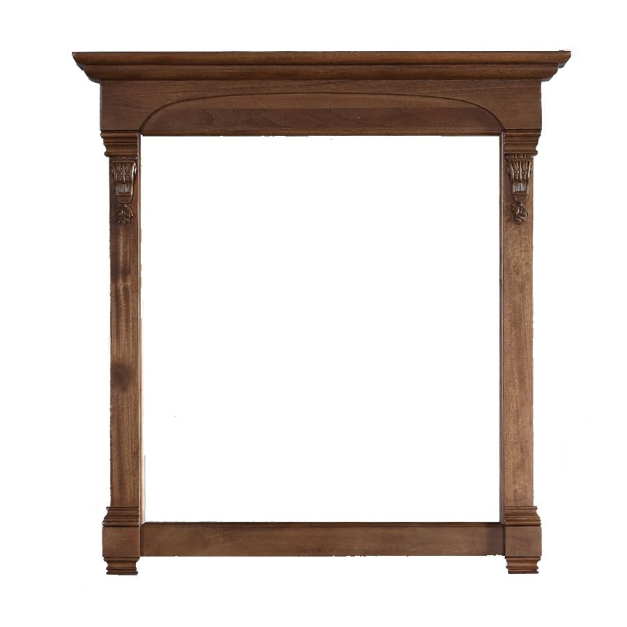 "James Martin 41"" x 39"" Brookfield Wall Mount Mirror - Country Oak 147-114-5375"