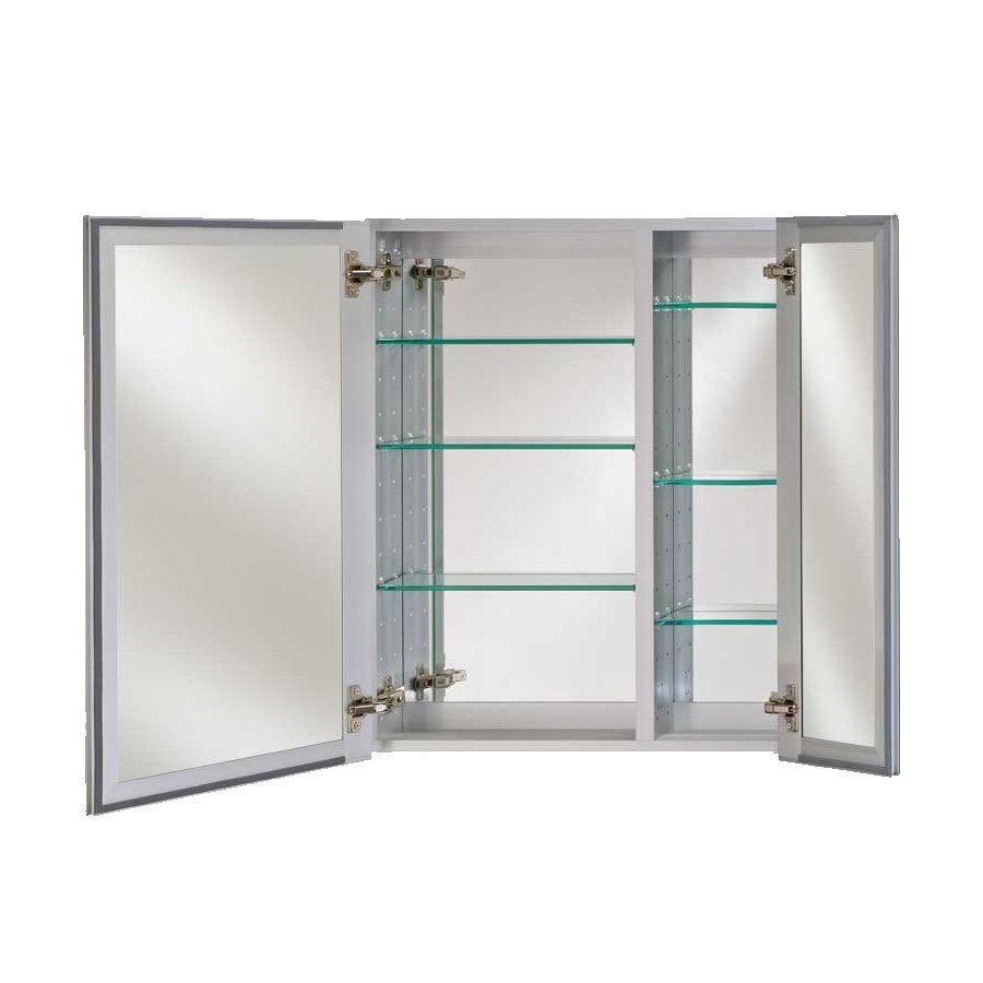 "Afina Broadway 28"" Wall Mount Mirrored Medicine Cabinet - Beveled DD 2830 R BRD (BV)"