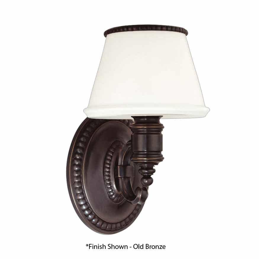 Hudson Valley Richmond 1 Light Bathroom Sconce - Flemish Brass 4941-FB