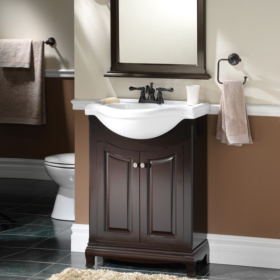 bathroom vanities 2 sinks foremost 26 quot palermo single sink bathroom vanity 16936