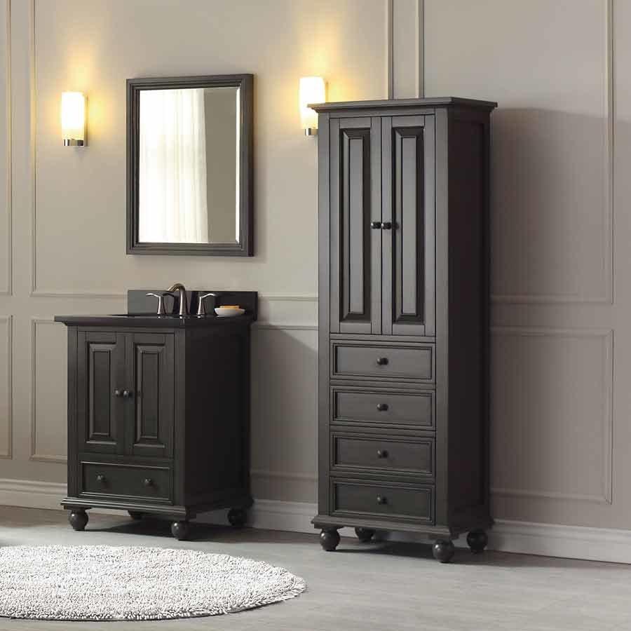 """Glazed Kitchen Cabinets Vs White: Avanity 25"""" Thompson Single Vanity"""