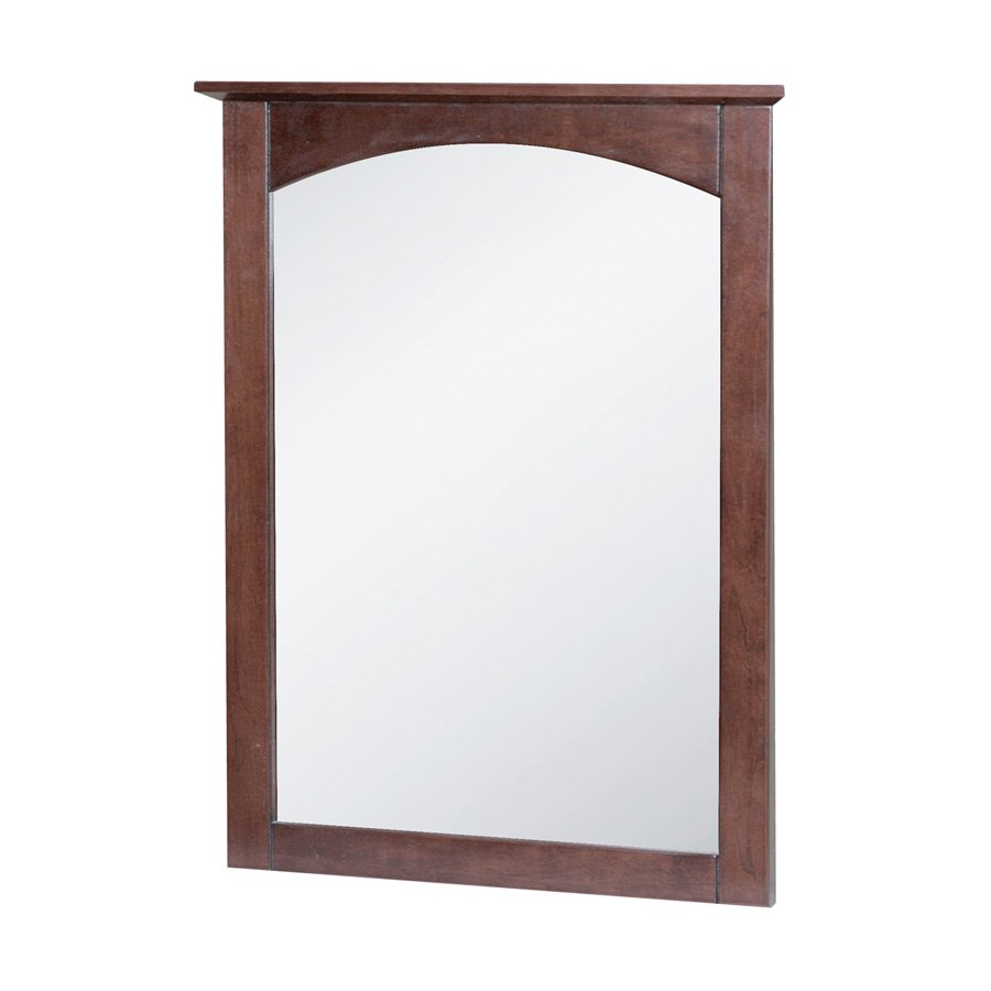 "Foremost 21"" x 28"" Columbia Wall Mount Mirror - Cherry COCM2128"