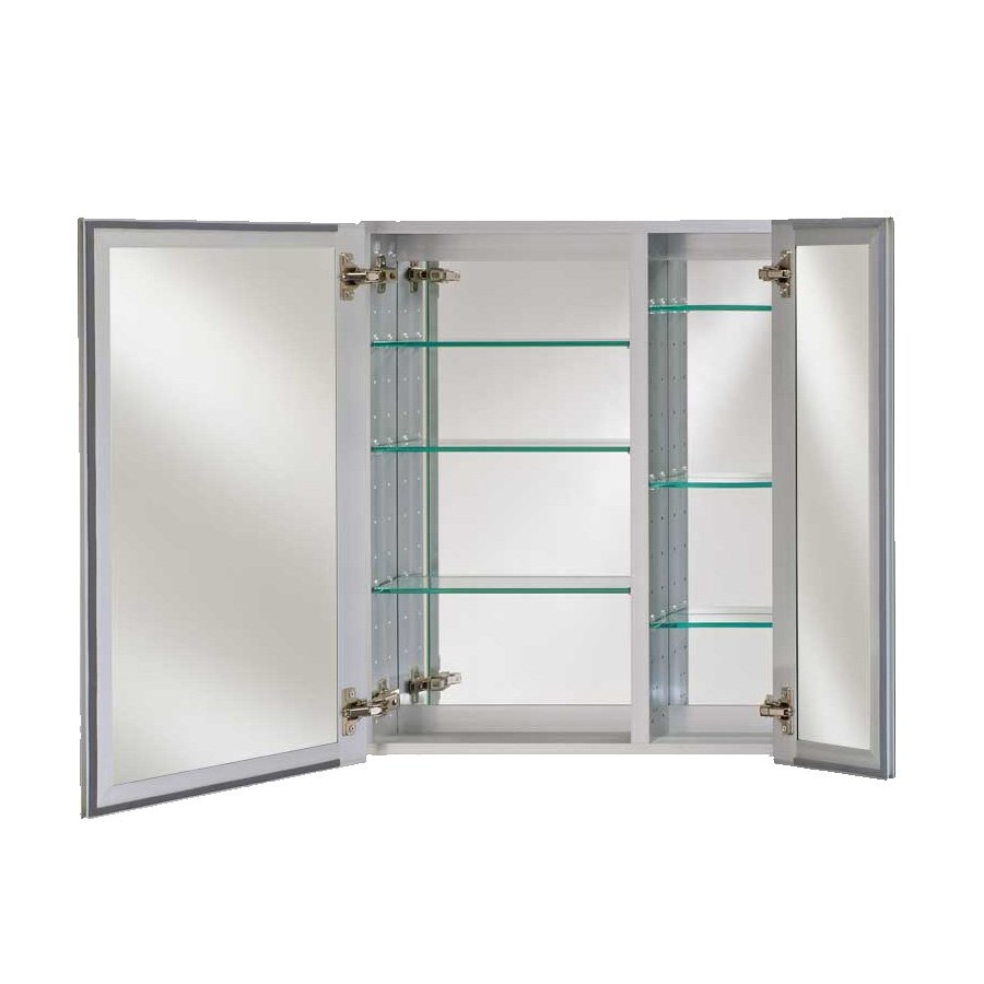 "Afina Broadway 30"" Wall Mount Mirrored Medicine Cabinet - Polished DD 3030 R BRD (PE)"