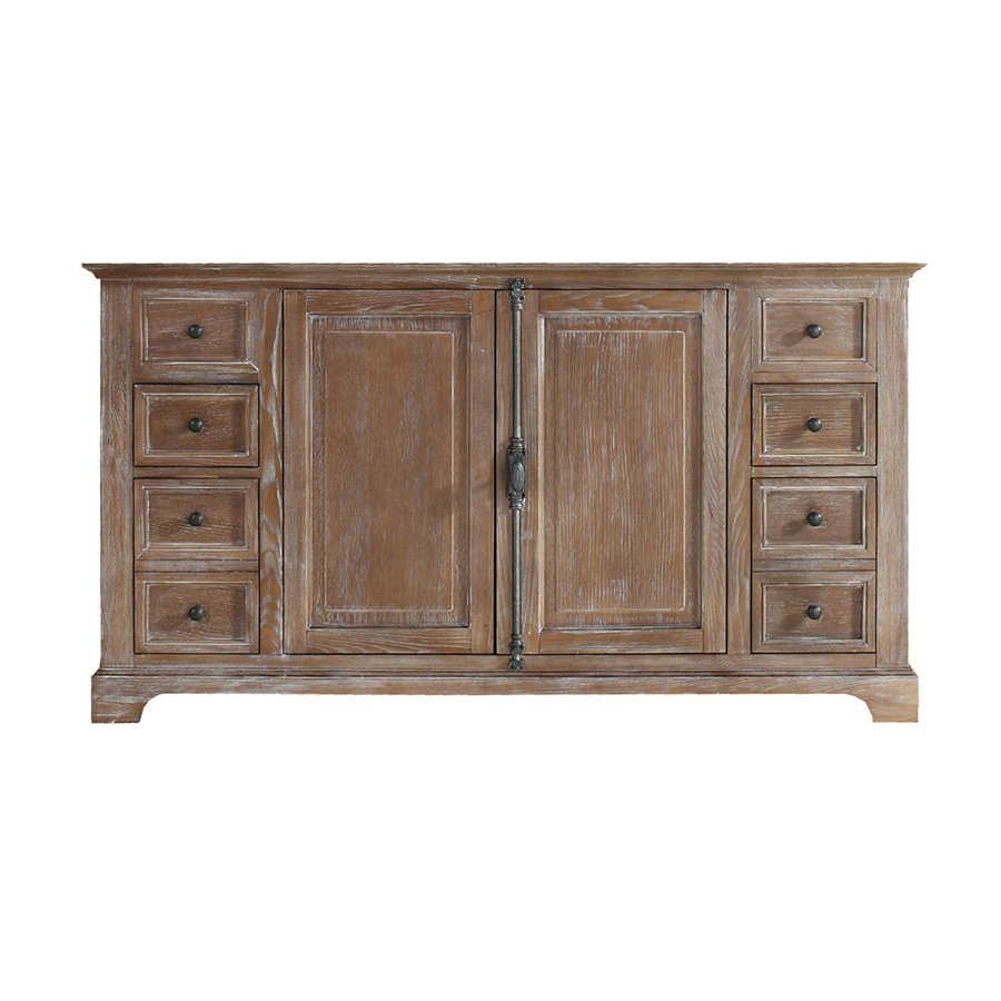 """James Martin 59"""" Providence Single Cabinet Only w/o Top - Driftwood 238-105-5311"""