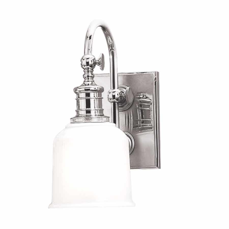 Hudson Valley Keswick 1 Light Bathroom Sconce Polished