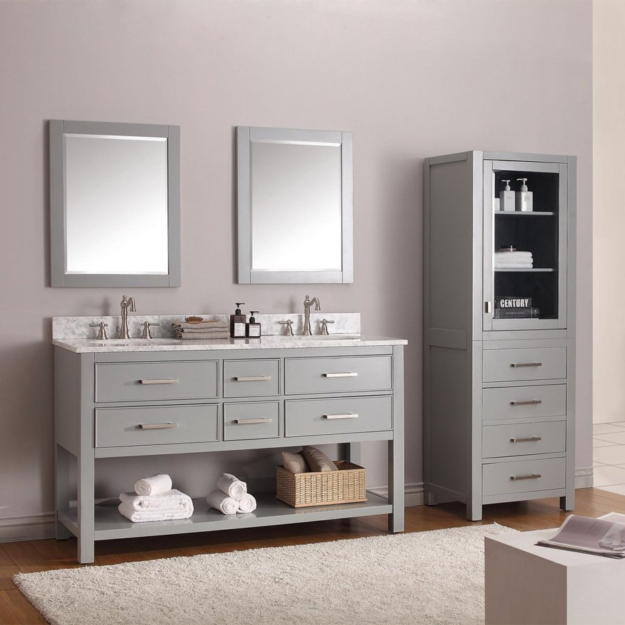 """24"""" x 32"""" Avanity Wall Mount Mirror - Chilled Gray 14000-M24-CG"""