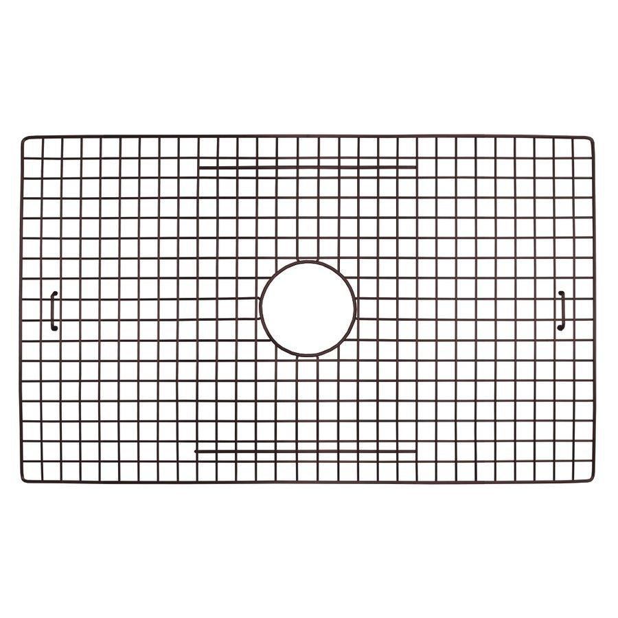 "Native Trails 29"" x 18"" Kitchen Sink Bottom Grid - Mocha GR2917-M"
