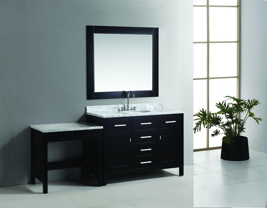 Design Element 48 Quot London Single Sink Vanity W Make Up