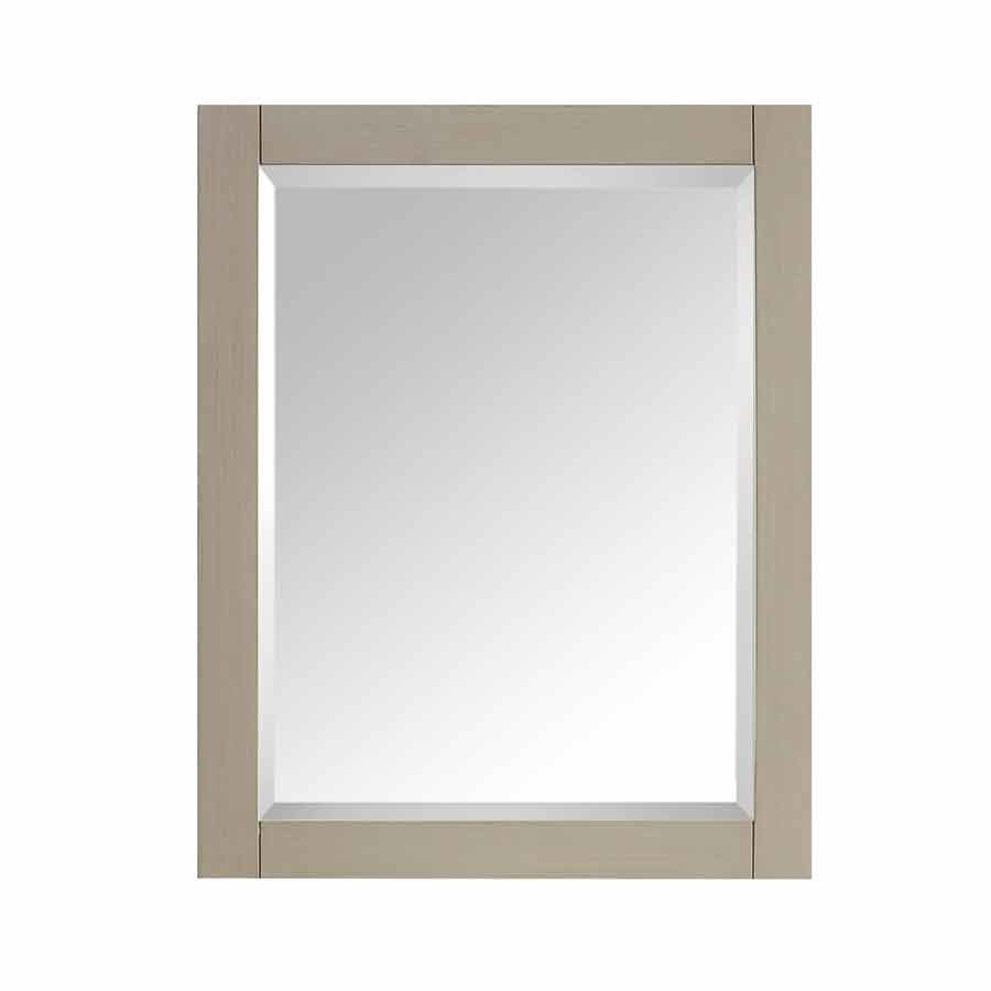 "30"" x 24"" Avanity Wall Mount Mirror - Taupe Glaze 14000-M24-TG"