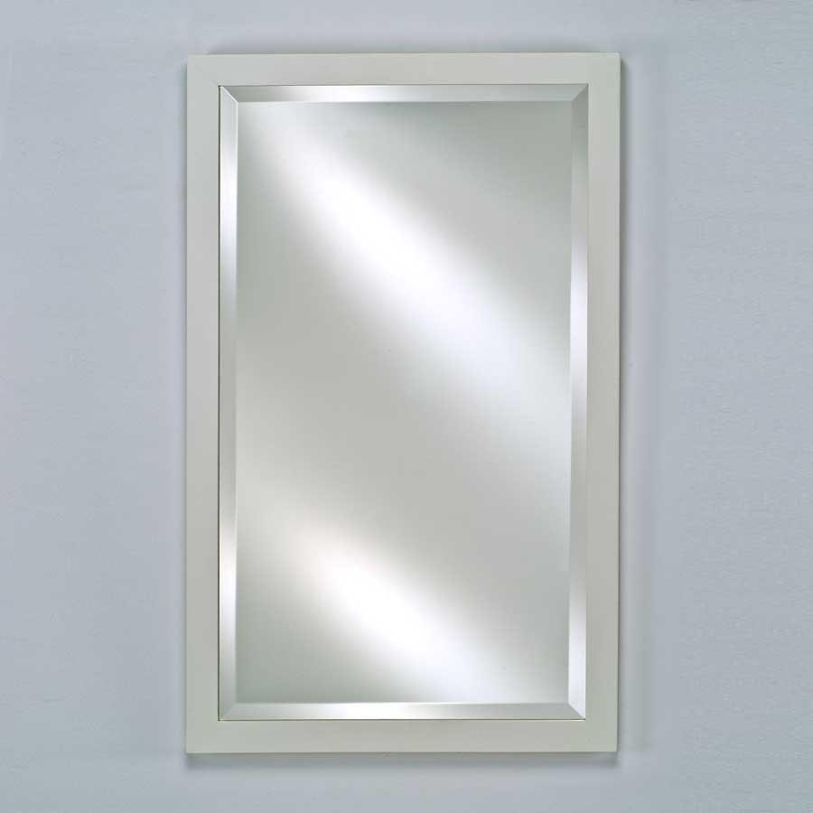 """Afina Estate 16"""" Mirror - Satin White EC11-1622-WT"""