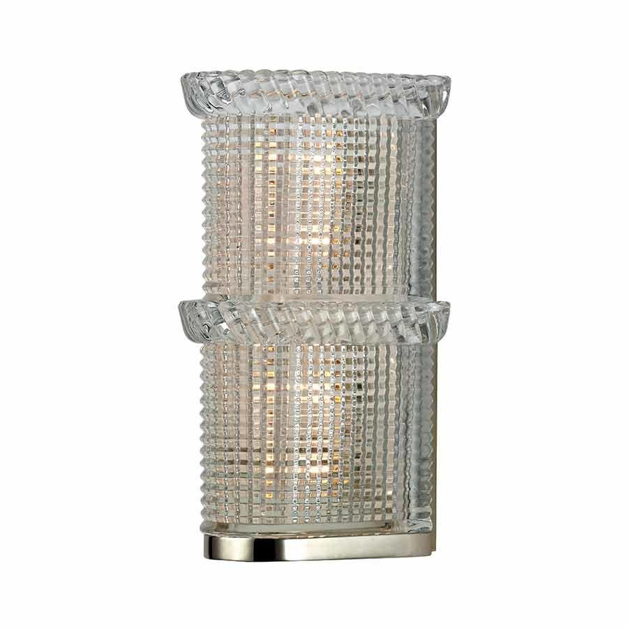 Hudson Valley Blythe 2 Light Bathroom Sconce - Polished Nickel 5992-PN
