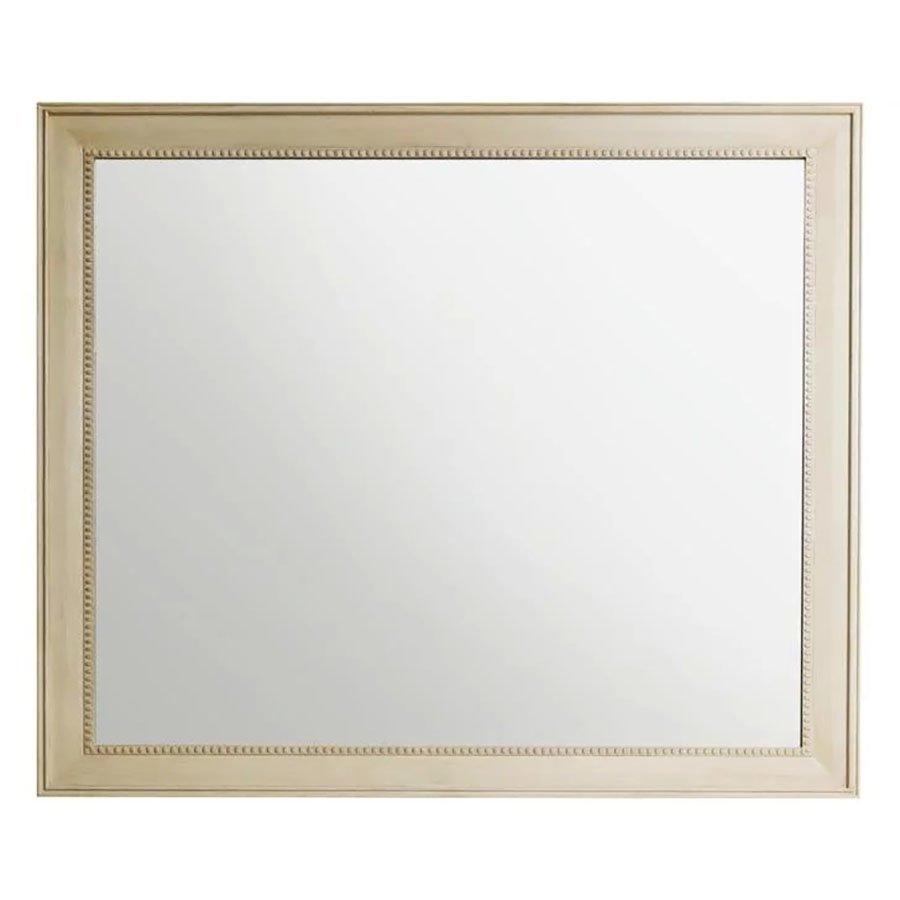 "James Martin 40"" X 44"" Bristol Wall Mount Mirror - White Washed Walnut 157-M44-WW"