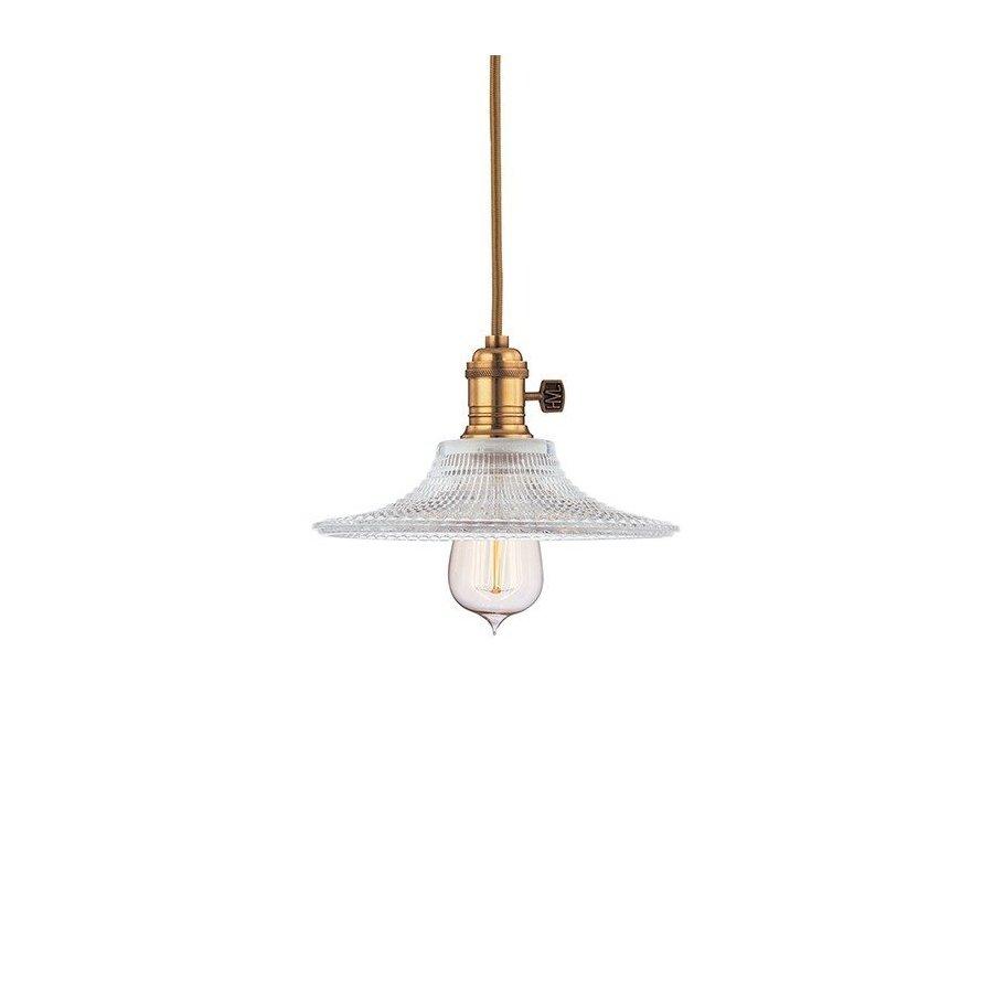 Hudson Valley Heirloom 1 Light Pendant - Aged Brass 8001-AGB-GS6