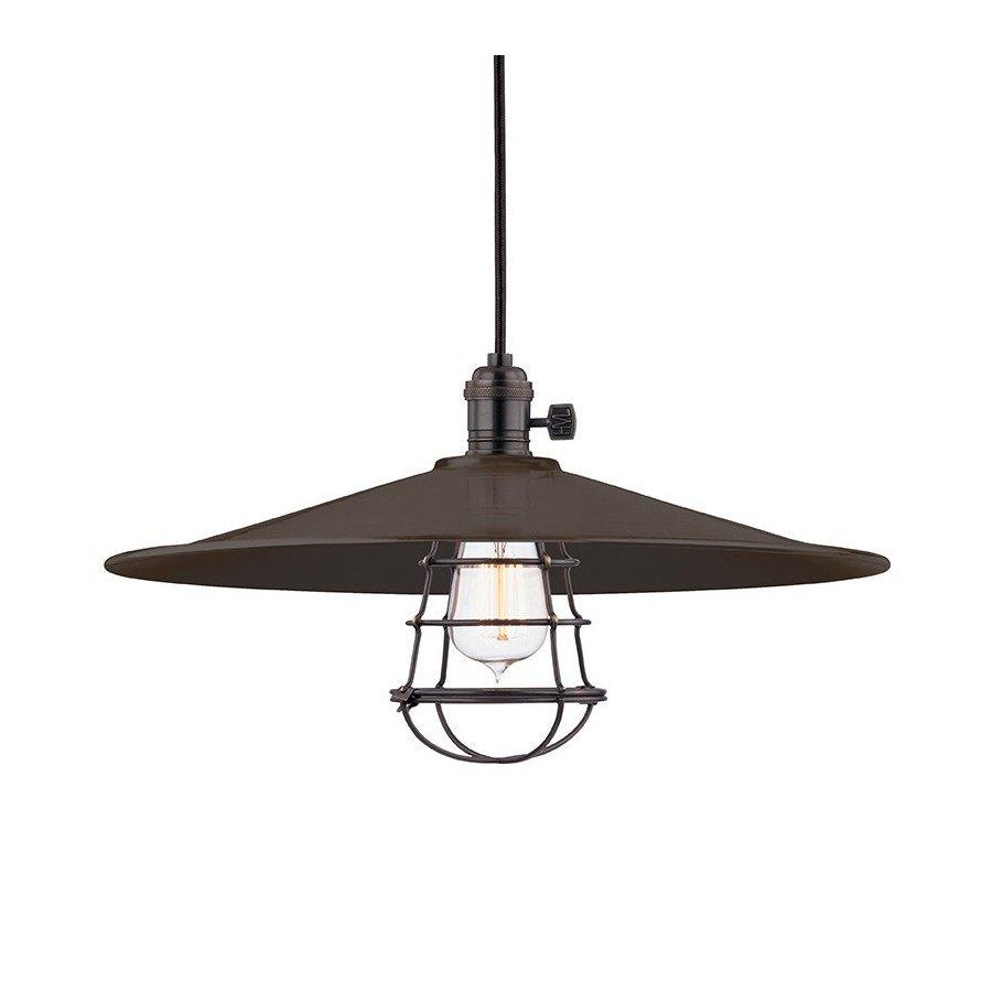 Hudson Valley Heirloom 1 Light Pendant - Old Bronze 8001-OB-ML1-WG